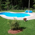 Backyard Inground Swimming Pool Manchester NH