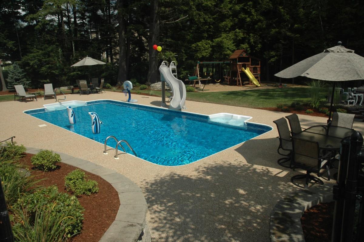 rectangle 20x40 - Rectangle Pool