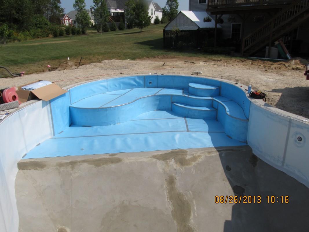 Inground Swimming Pool Shapes Design In Auburn Nh Your Pool Pal Llc